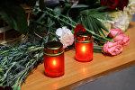 Unas velas (archivo)