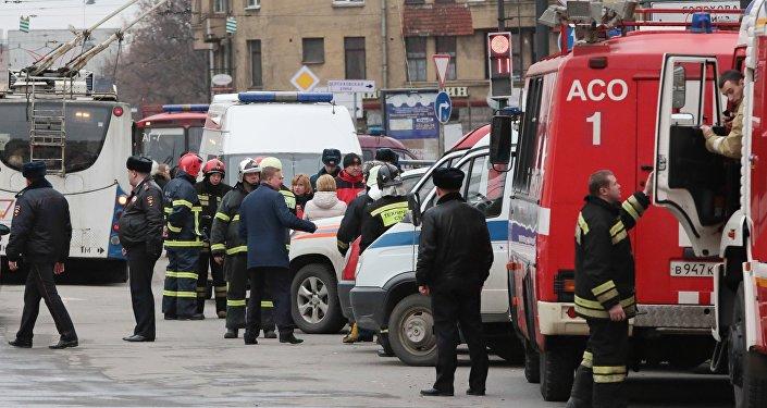 Situación en San Petersburgo tras la explosión en el metro