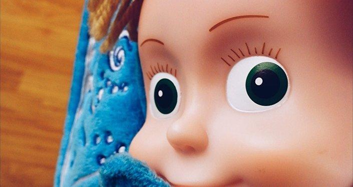 Juguete Masha del dibujo animado Masha y el Oso