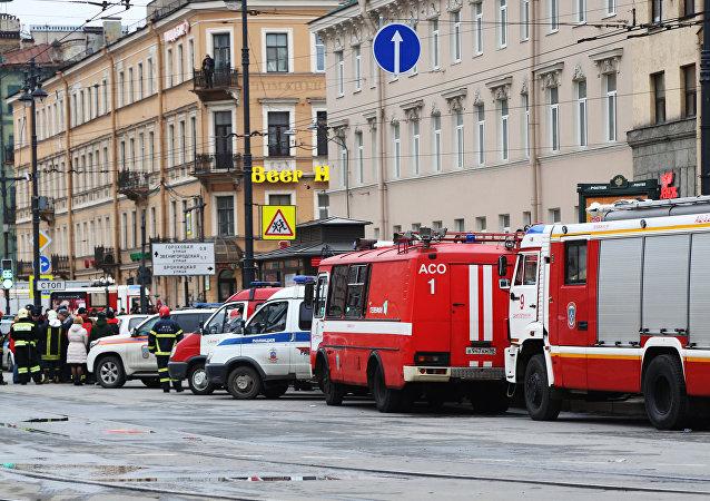 Situación en San Petersburgo tras explosión en el metro