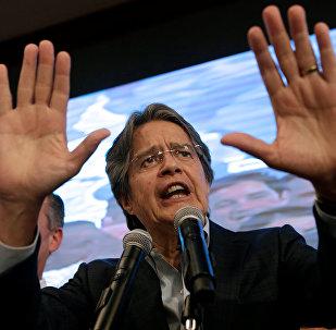 Guillermo Lasso, candidato a la presidencia de Ecuador