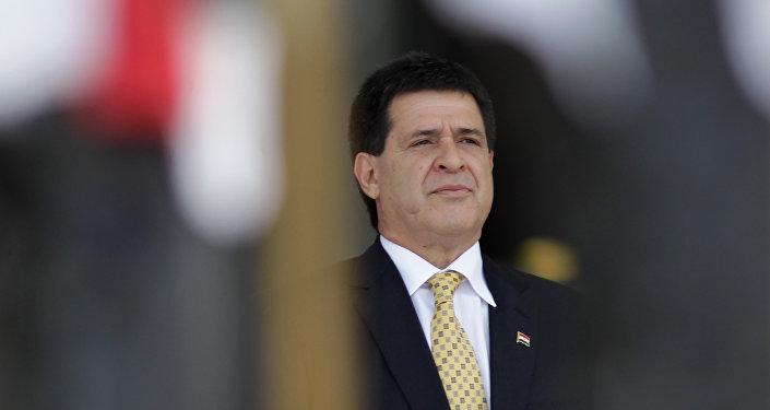 Renunció el presidente de Paraguay, Horacio Cartes