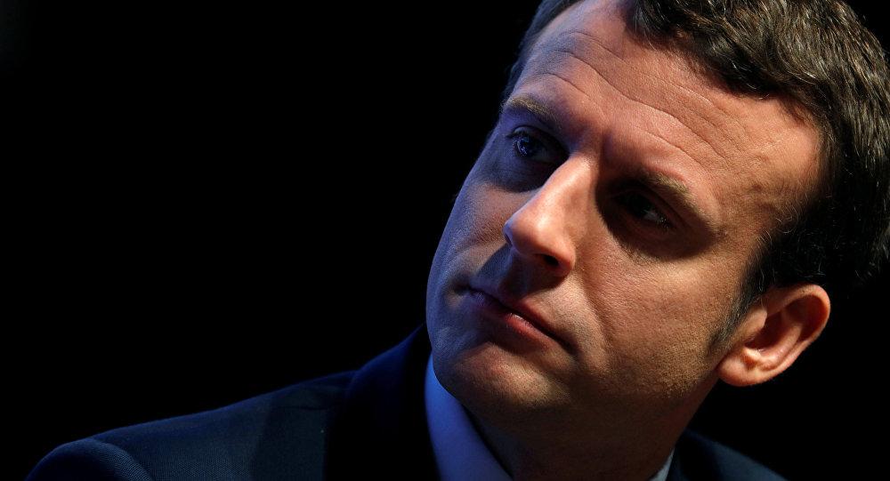 Emmanuel Macron presidente de Francia
