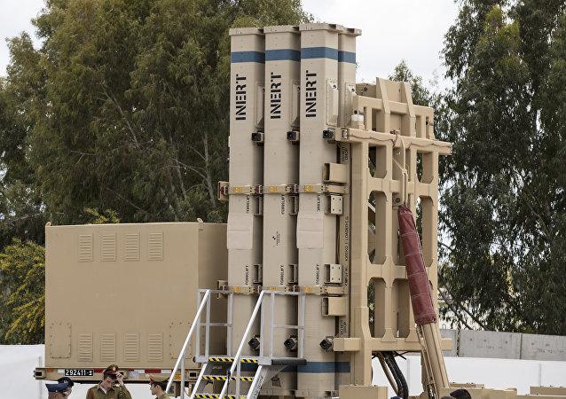 El despliegue oficial de la batería antimisiles israelí Honda de David