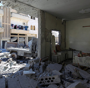 Consecuencias de los bombardeos en Idlib