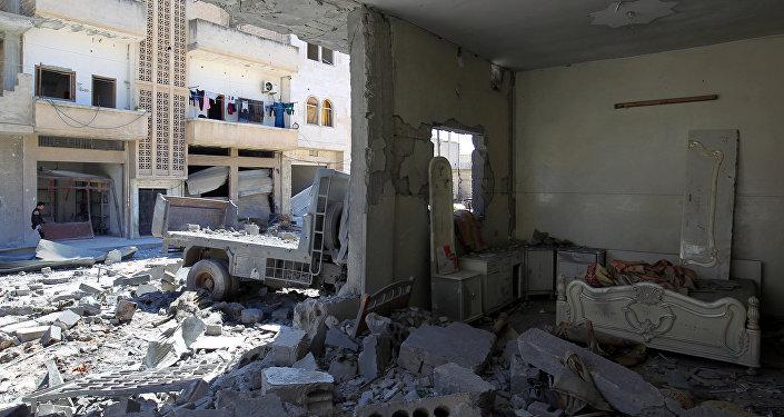 Situación en Idlib (imagen referencial)