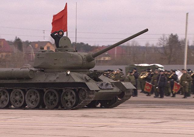 Cómo será el desfile militar del 9 de mayo