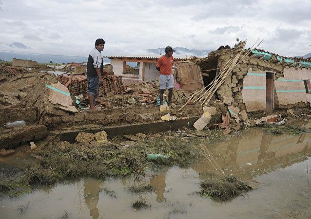 Inundaciones en Bolivia (archivo)