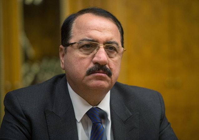 Embajador de la República Árabe Siria en Rusia Riad Haddad