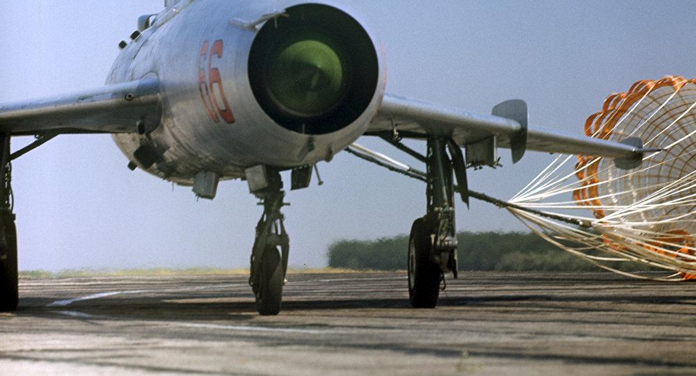Un MiG-21 (archivo)