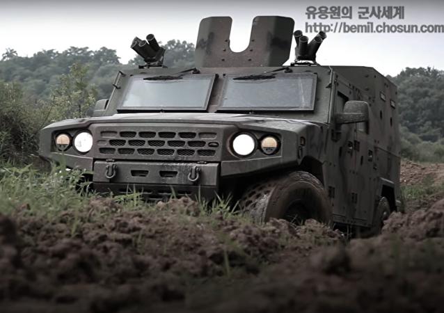Nuevo todoterreno blindado militar surcoreano