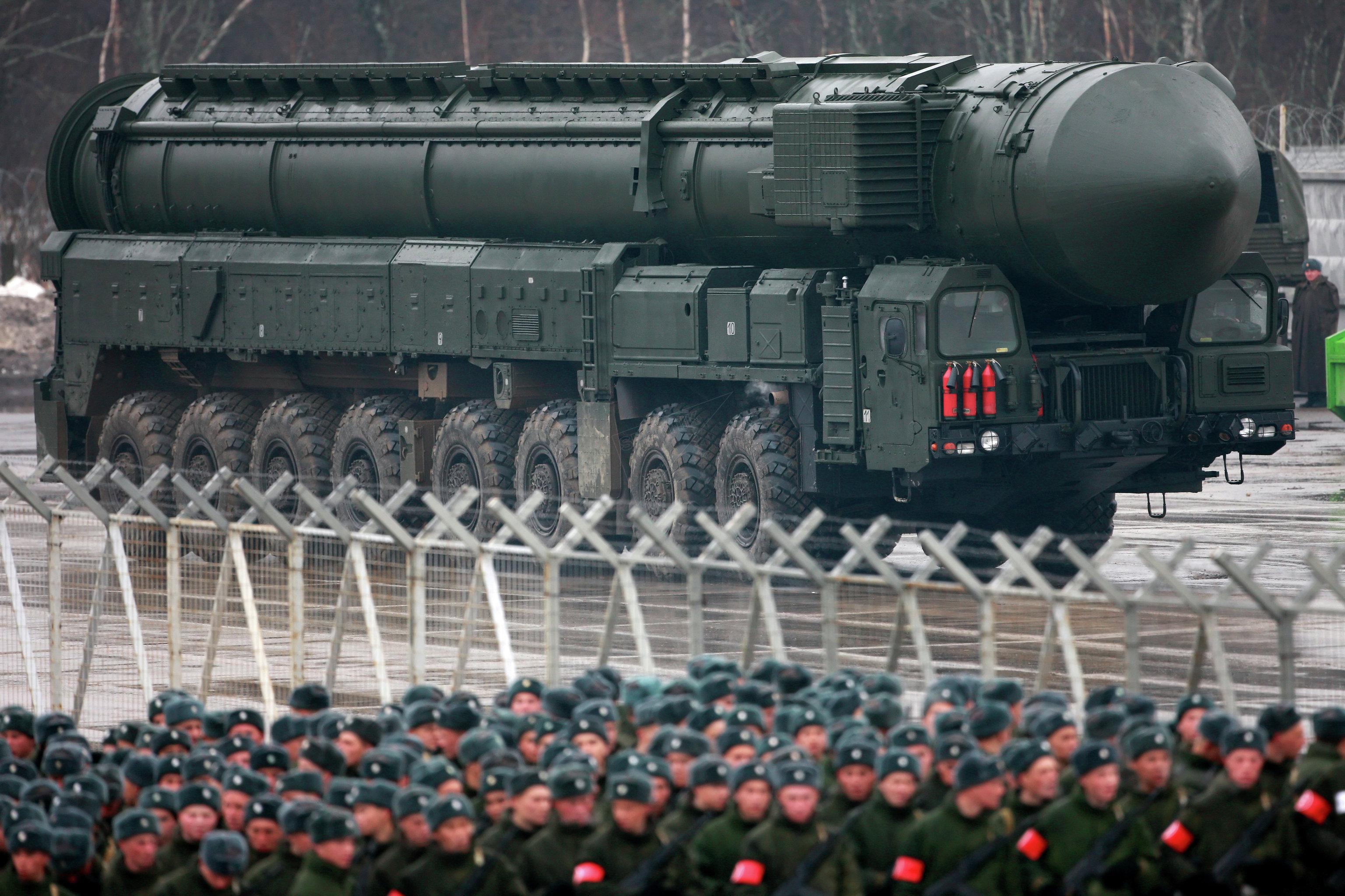 Topol-M, sistema de misil balístico estratégico intercontinental