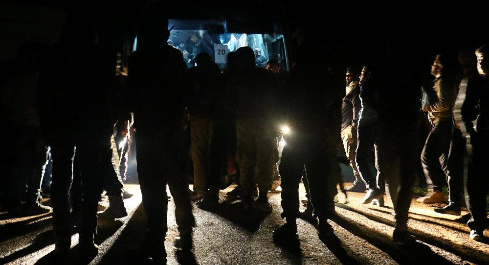 La evacuación de los rebeldes sirios en Homs