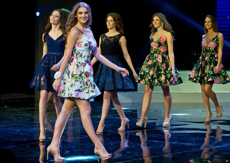 Participantes del concurso Miss República de Crimea 2017