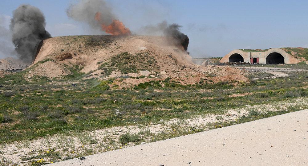 Las consecuencias del ataque de EEUU sobre la base aérea de Shairat