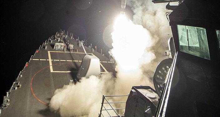 El ataque de EEUU contra la base aérea en Siria