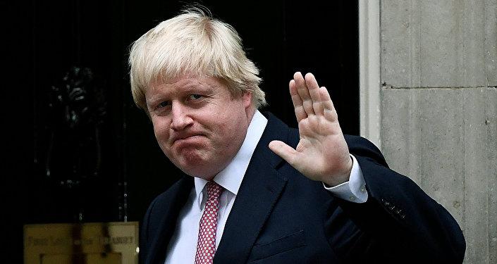 Boris Johnson, canciller de Reino Unido