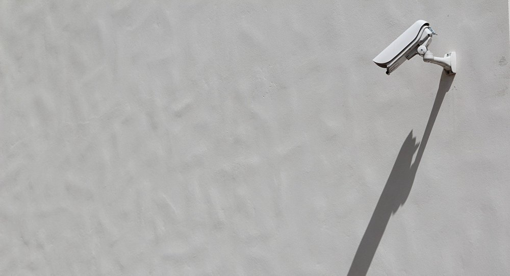 Cámara de vigilancia (imagen referencial)