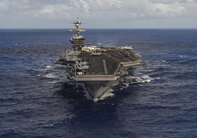 Portaviones USS Carl Vinson (archivo)