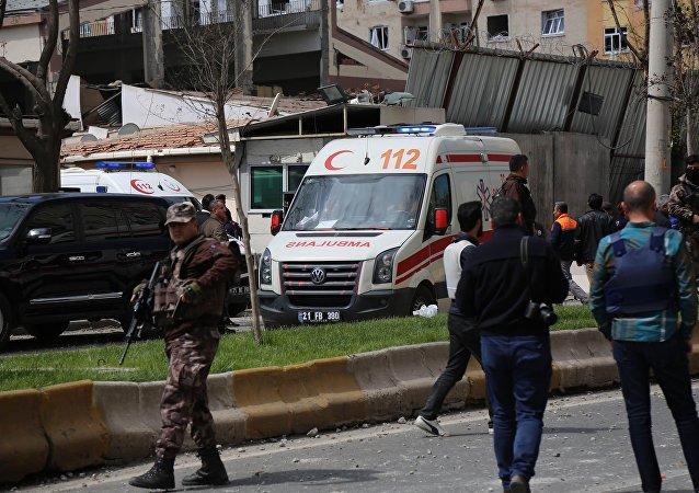 Una fuerte explosión sacude la ciudad turca de Diyarbakir