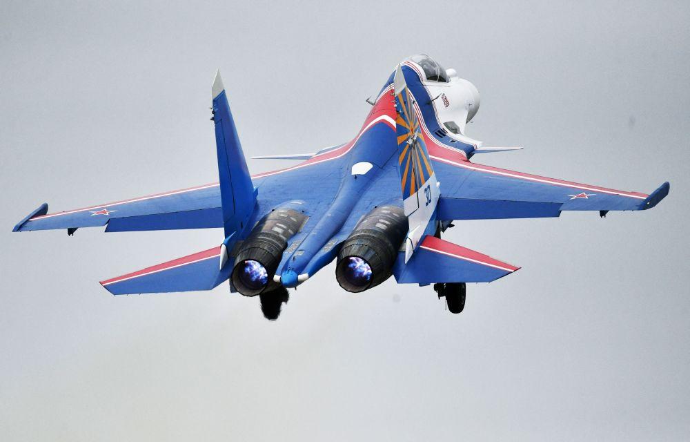 Las Fuerzas Aéreas rusas se preparan para el desfile del Día de la Victoria