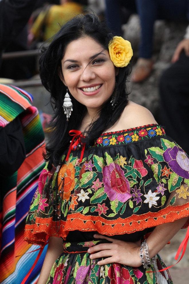 Vestidos tipicos modernos mexico