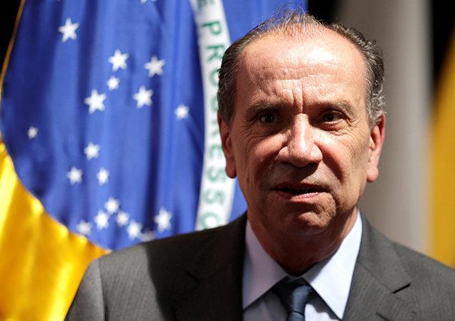 Aloysio Nunes, ministro de Relaciones Exteriores de Brasil (archivo)