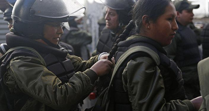 Policía de Bolivia (archivo)