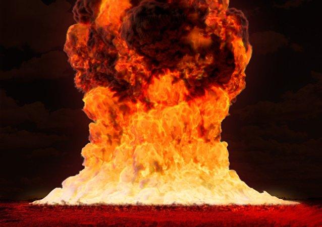 Una explosión nuclear (imagen ilustrativa)