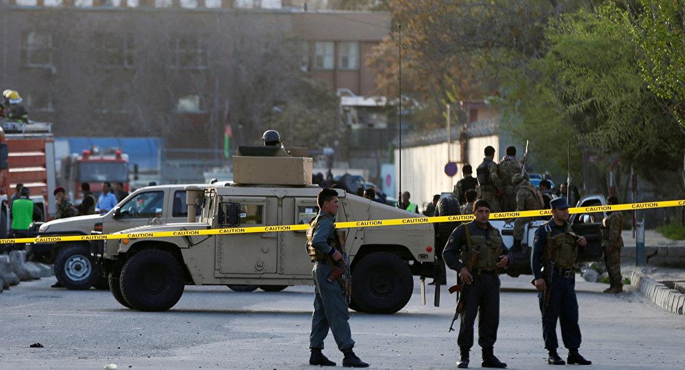 La  de Afganistán en el lugar de un atentado (Archivo)