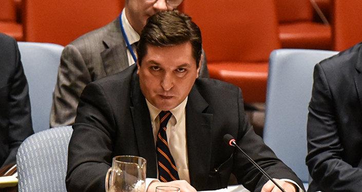 Vladímir Safrónkov, embajador adjunto de Rusia ante las Naciones Unidas