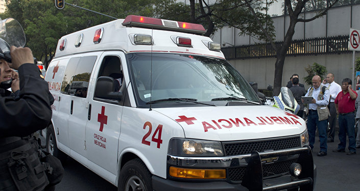 Ambulancia mexicana (archivo)