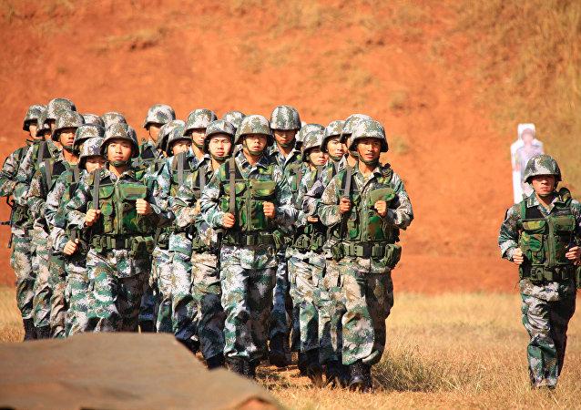 Soldados chinos (archivo)
