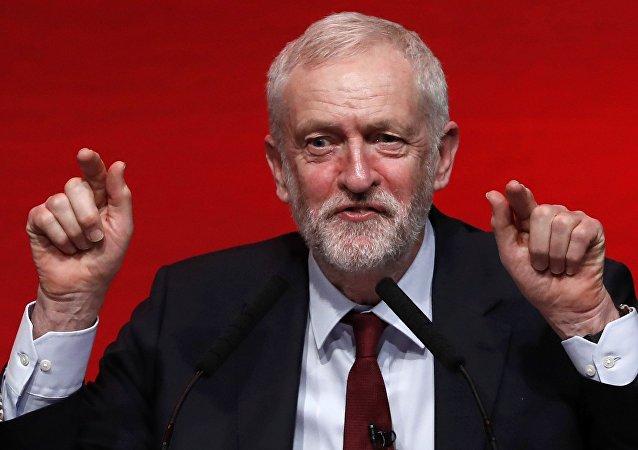 El líder laborista, Jeremy Corbyn (archivo)