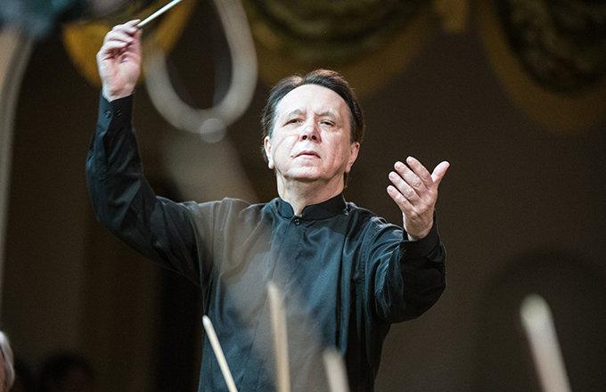 Mijaíl Pletniov, fundador y director de la Orquesta Nacional Rusa