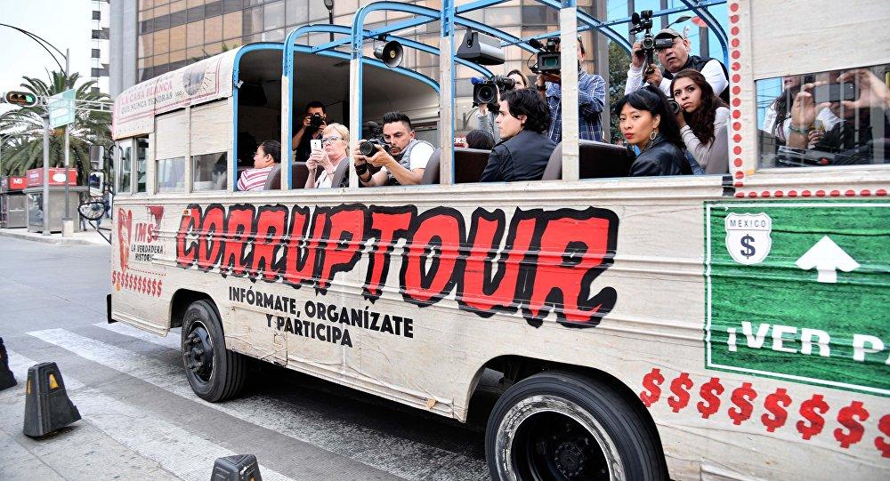 El 'Corruptour'