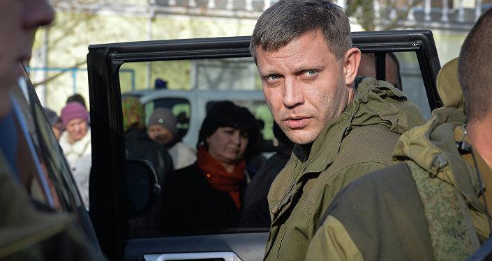 Aleksandr Zajárchenko, líder de la autoproclamada República Popular de Donetsk