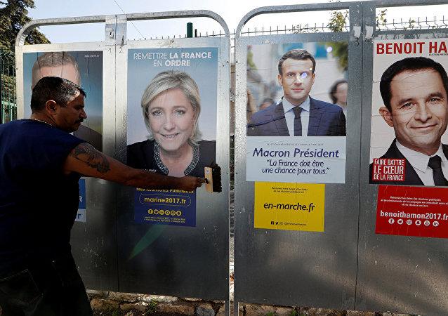 Candidatos presidenciales franceses