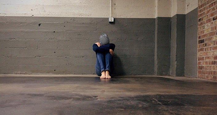 Un joven triste (archivo)