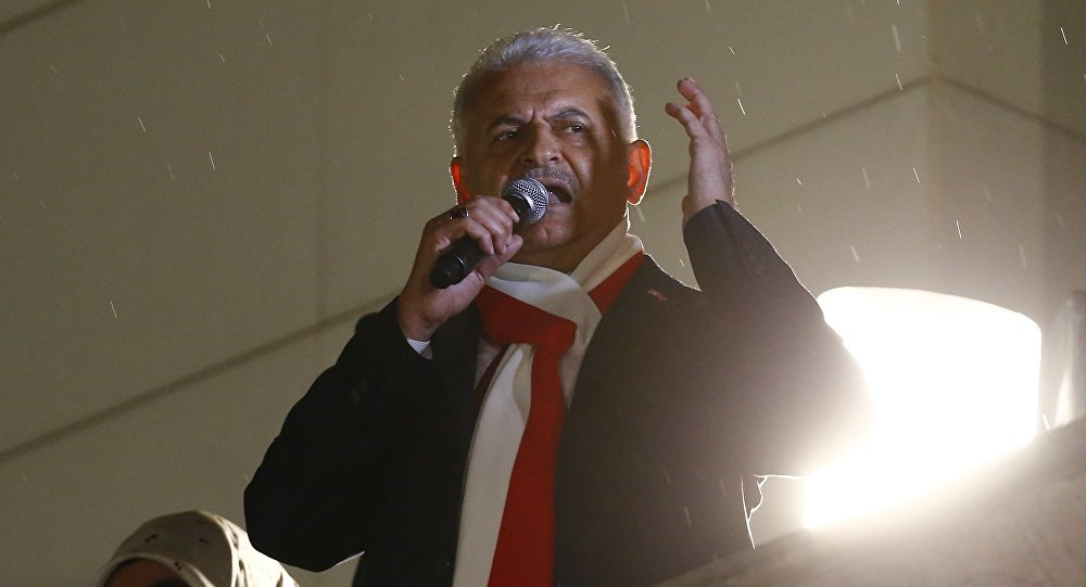 Binali Yildirim, el primer ministro turco