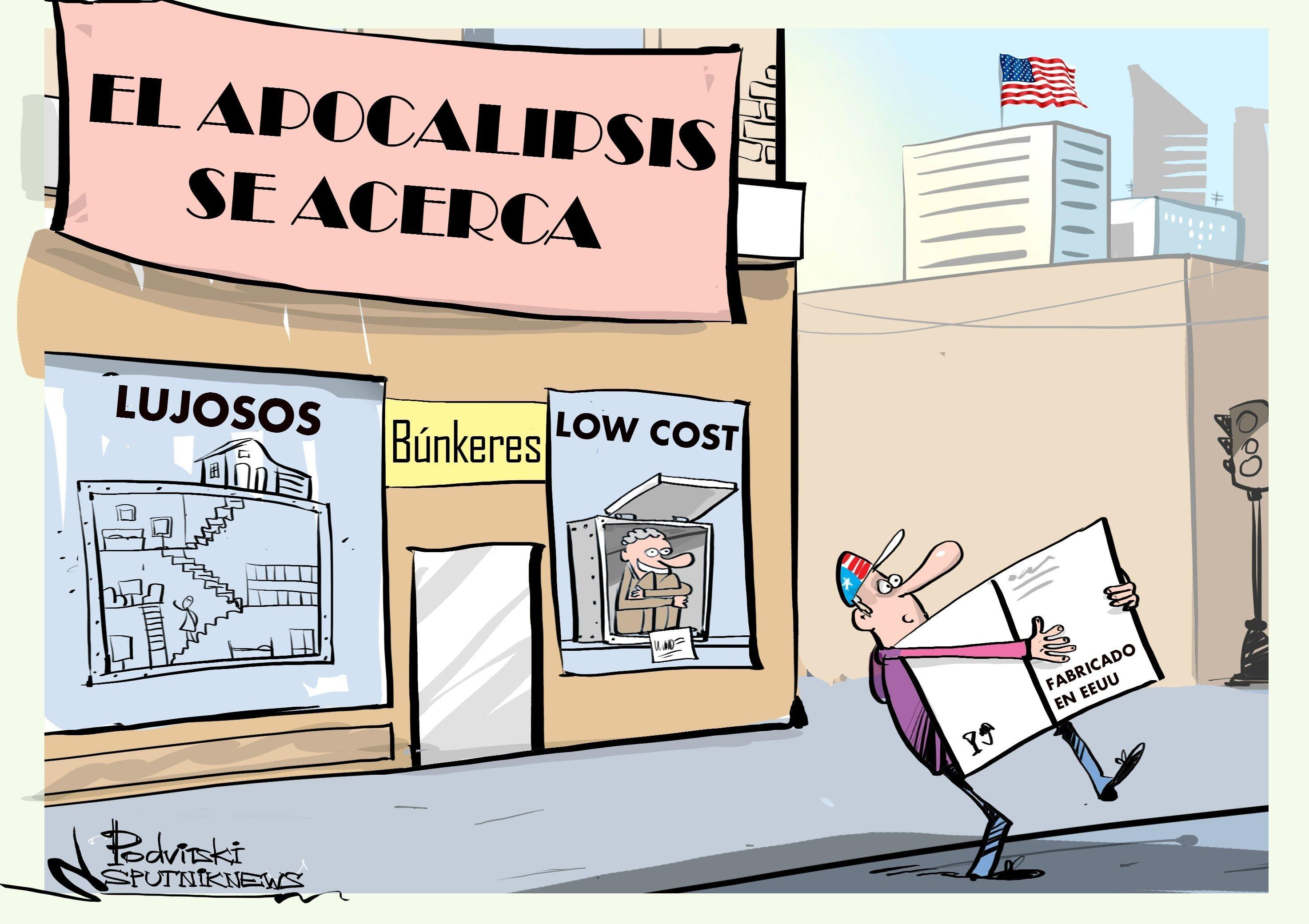 ¿En guerra? Aumenta la compra de búnkeres en EEUU