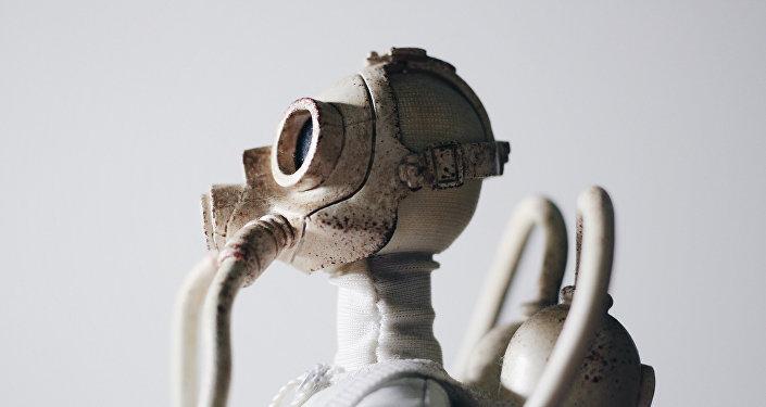 Una máscara antigás (imagen referencial)
