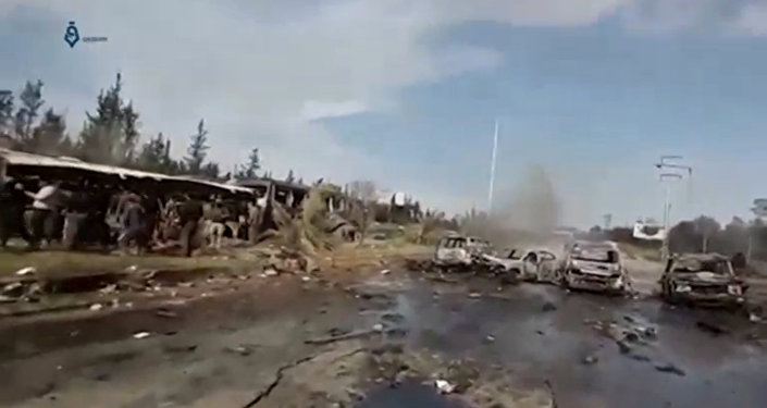Atentado en Alepo, Siria
