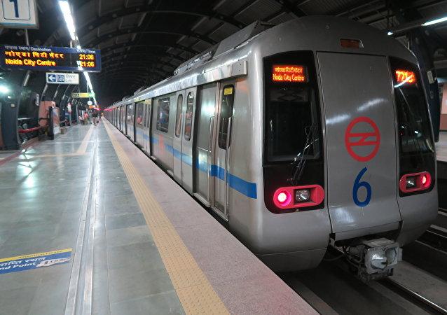 Metro de Nueva Delhi