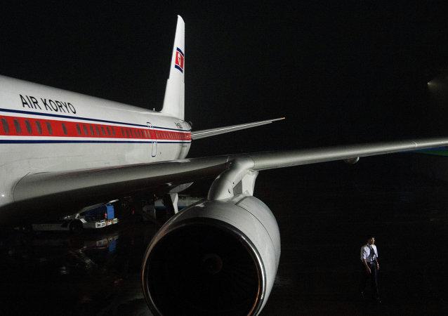 Aeropuerto de Pyongyang, Corea del Norte (archivo)