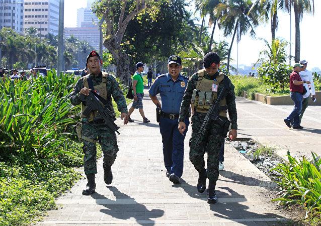 La policía de Filipinas (archivo)