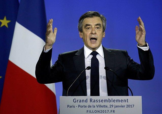 François Fillon, ex primer ministro de Francia