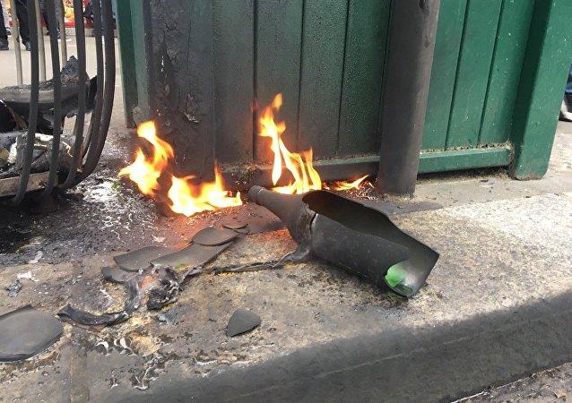 Cócteles molotov (archivo)