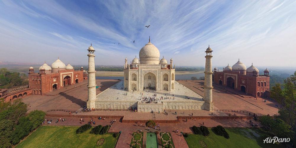 El Taj Mahal en la India