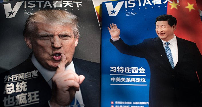 Los presidentes de China y EEUU, Xi Jinping y Donald Trump (archivo)